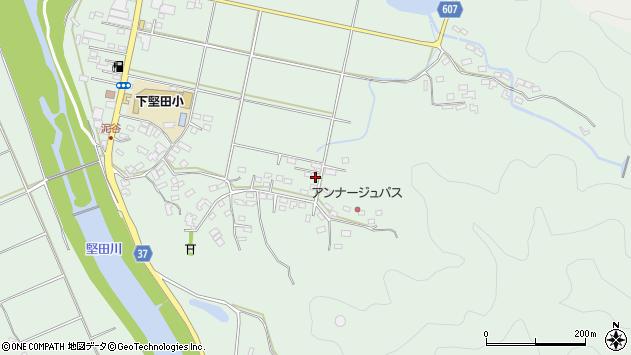 大分県佐伯市堅田5606周辺の地図