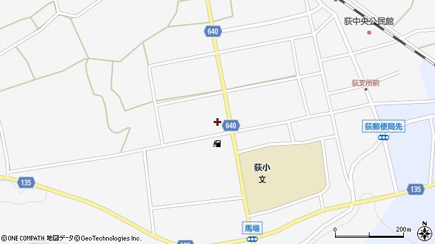 大分県竹田市荻町馬場518周辺の地図