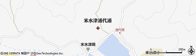 大分県佐伯市米水津大字浦代浦602周辺の地図