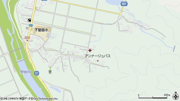 大分県佐伯市堅田5612周辺の地図