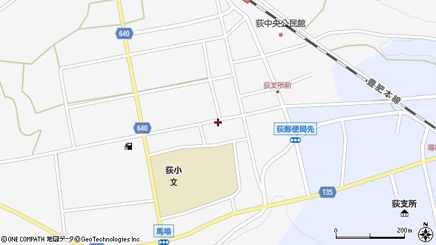 大分県竹田市荻町馬場468周辺の地図