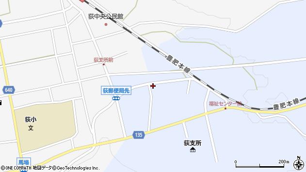 大分県竹田市荻町恵良原781周辺の地図