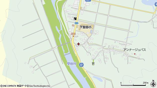 大分県佐伯市堅田5558周辺の地図