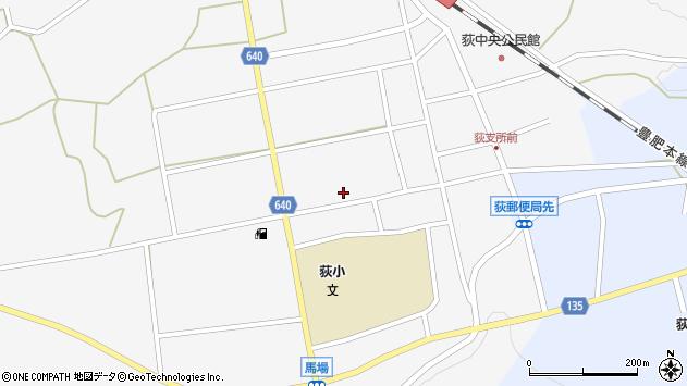 大分県竹田市荻町馬場471周辺の地図