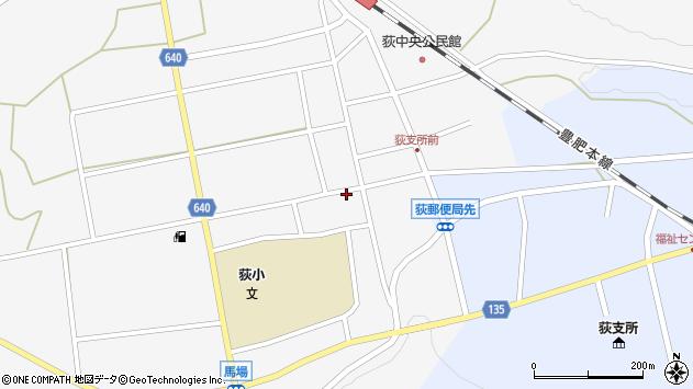 大分県竹田市荻町馬場467周辺の地図