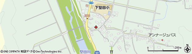 大分県佐伯市堅田5557周辺の地図