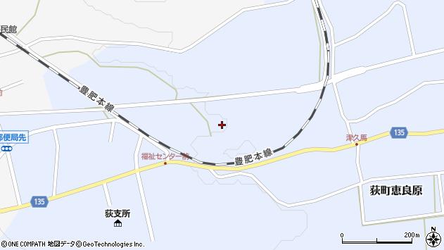 大分県竹田市荻町恵良原698周辺の地図