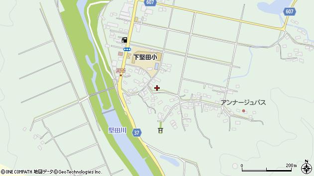 大分県佐伯市堅田5515周辺の地図