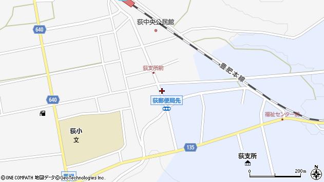 大分県竹田市荻町恵良原730周辺の地図