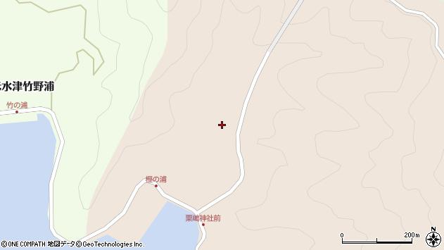 大分県佐伯市米水津大字小浦323周辺の地図