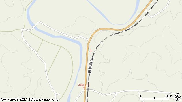 大分県佐伯市直川大字下直見4683周辺の地図