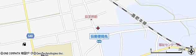 大分県竹田市荻町恵良原729周辺の地図