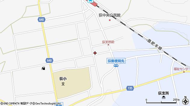 大分県竹田市荻町馬場434周辺の地図