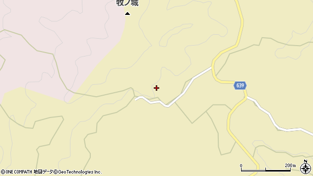 大分県竹田市太田837周辺の地図