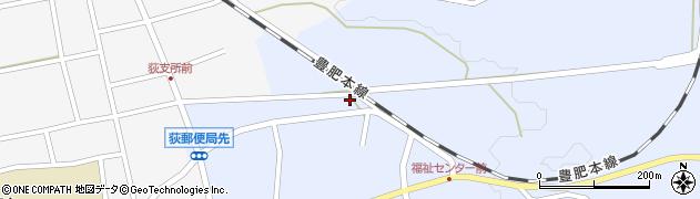 大分県竹田市荻町恵良原716周辺の地図