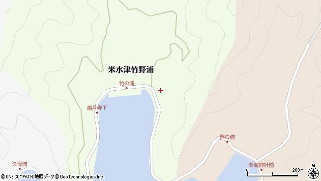 大分県佐伯市米水津大字竹野浦689周辺の地図