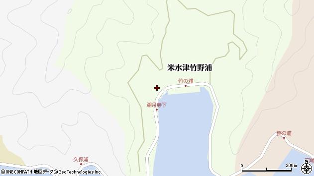 大分県佐伯市米水津大字竹野浦199周辺の地図