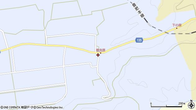 大分県竹田市荻町恵良原2225周辺の地図