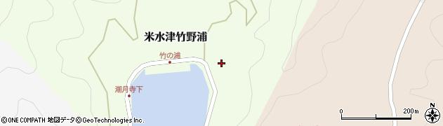 大分県佐伯市米水津大字竹野浦693周辺の地図