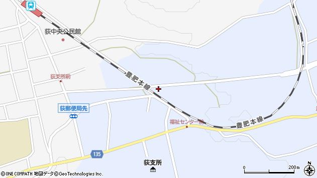 大分県竹田市荻町恵良原713周辺の地図