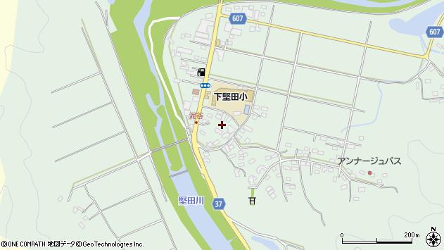 大分県佐伯市堅田5543周辺の地図