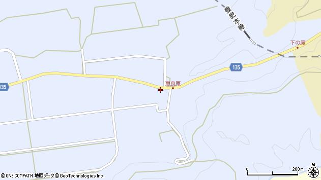 大分県竹田市荻町恵良原2224周辺の地図