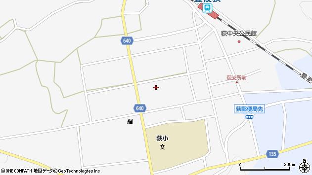 大分県竹田市荻町馬場481周辺の地図