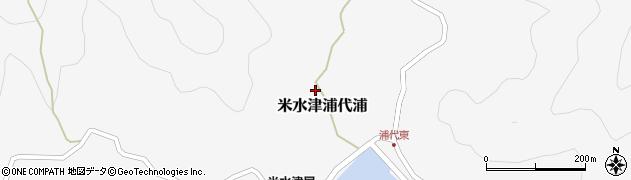 大分県佐伯市米水津大字浦代浦609周辺の地図