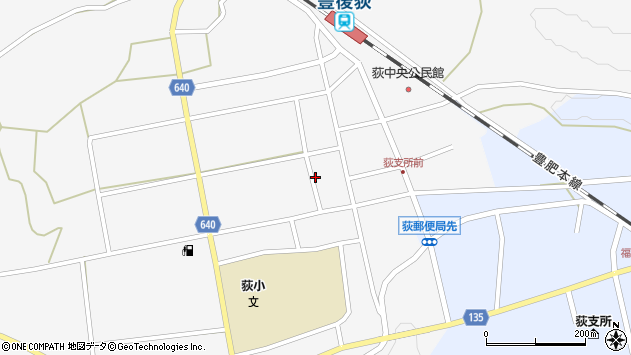 大分県竹田市荻町馬場487周辺の地図