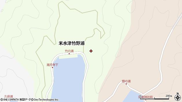 大分県佐伯市米水津大字竹野浦680周辺の地図
