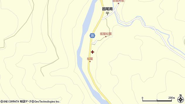 大分県佐伯市本匠大字堂ノ間1412周辺の地図