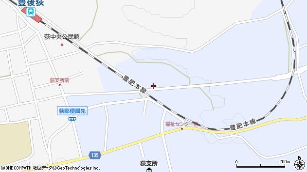 大分県竹田市荻町恵良原712周辺の地図