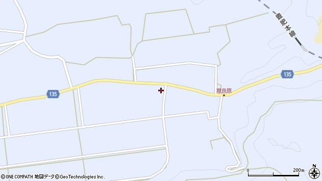 大分県竹田市荻町恵良原2117周辺の地図