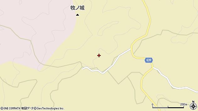 大分県竹田市太田880周辺の地図