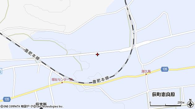 大分県竹田市荻町恵良原659周辺の地図