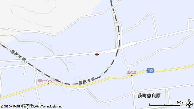 大分県竹田市荻町恵良原792周辺の地図
