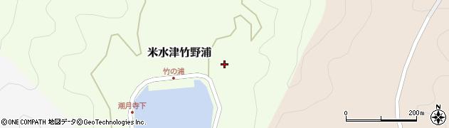 大分県佐伯市米水津大字竹野浦605周辺の地図