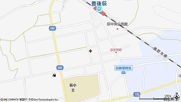 大分県竹田市荻町馬場485周辺の地図