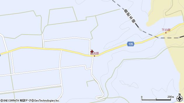 大分県竹田市荻町恵良原2021周辺の地図