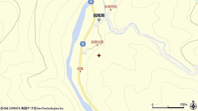 大分県佐伯市本匠大字堂ノ間1401周辺の地図