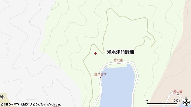 大分県佐伯市米水津大字竹野浦185周辺の地図