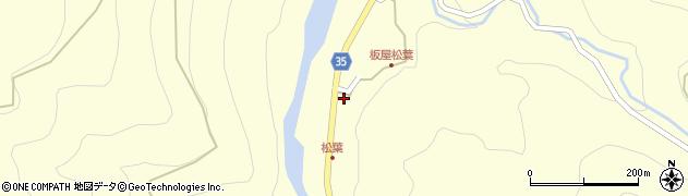 大分県佐伯市本匠大字堂ノ間1411周辺の地図
