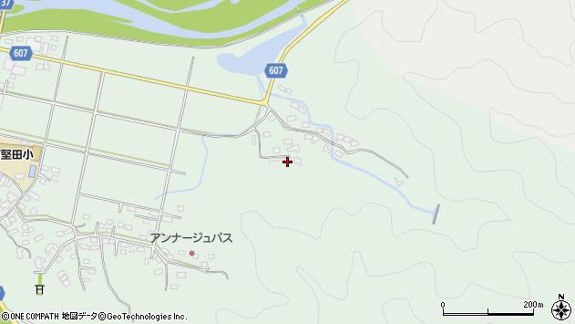 大分県佐伯市堅田6277周辺の地図