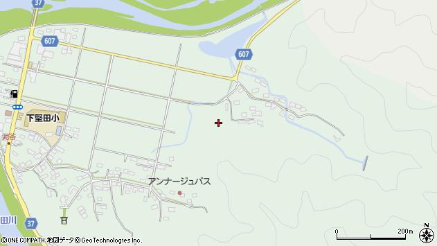 大分県佐伯市堅田市谷周辺の地図
