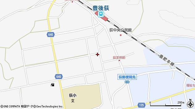 大分県竹田市荻町馬場488周辺の地図