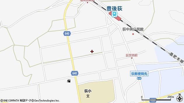 大分県竹田市荻町馬場482周辺の地図