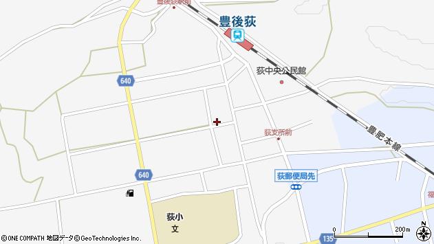 大分県竹田市荻町馬場490周辺の地図