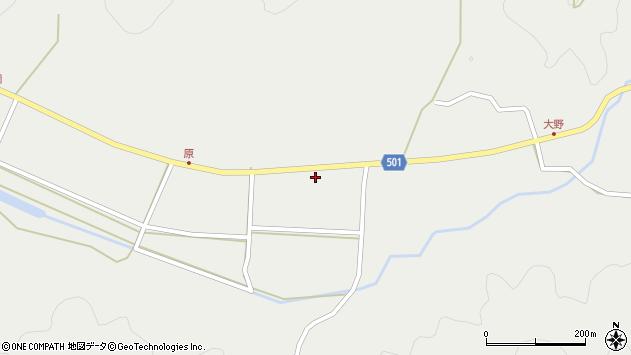 大分県佐伯市木立5171周辺の地図
