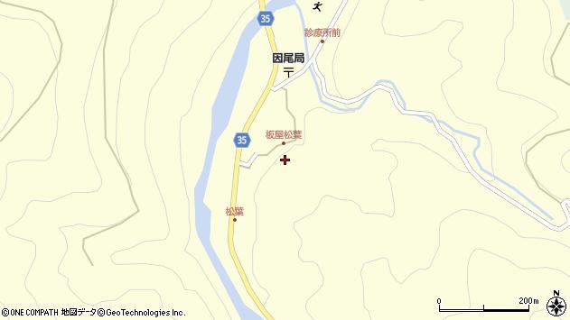 大分県佐伯市本匠大字堂ノ間1390周辺の地図