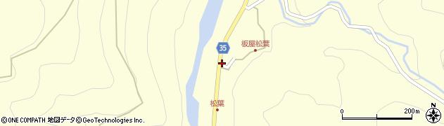大分県佐伯市本匠大字堂ノ間1377周辺の地図